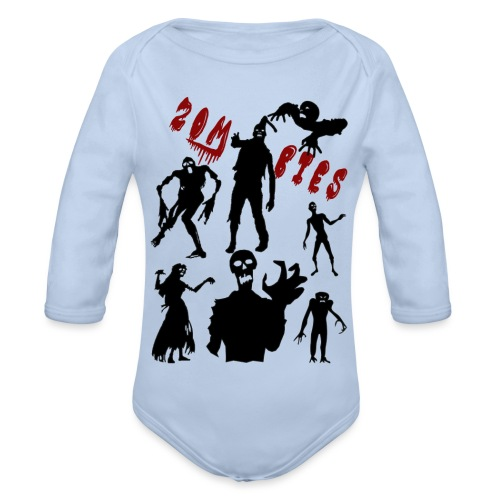 Zombies - Vauvan pitkähihainen luomu-body