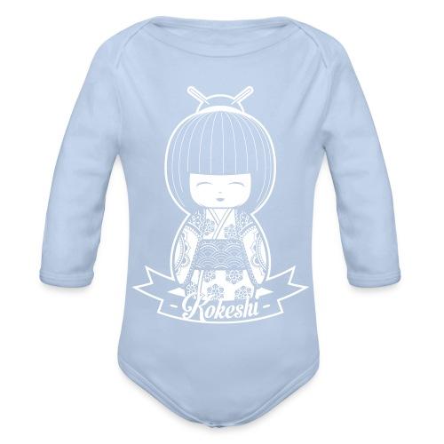 kokeshi - Baby Bio-Langarm-Body