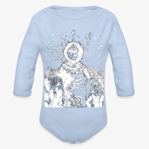 The King - Organic Longsleeve Baby Bodysuit