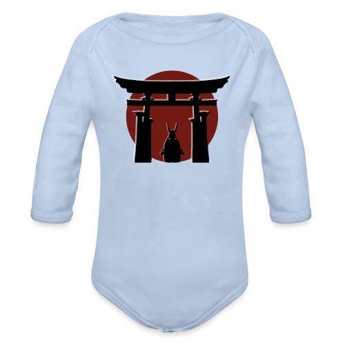 Torii and Samurai - Body Bébé bio manches longues