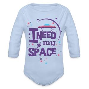 t_shirt_fuer_beste_freundin - Baby Bio-Langarm-Body