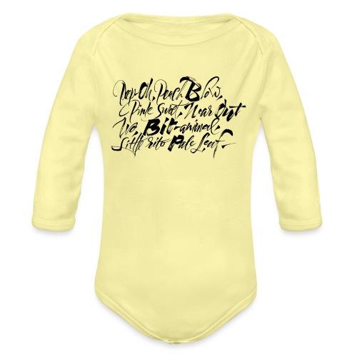 CocteauTwins Ivo T-shirt - Body ecologico per neonato a manica lunga