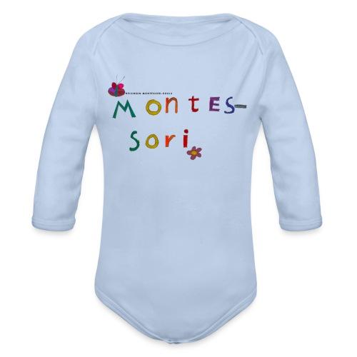 Happy Montessori - Vauvan pitkähihainen luomu-body