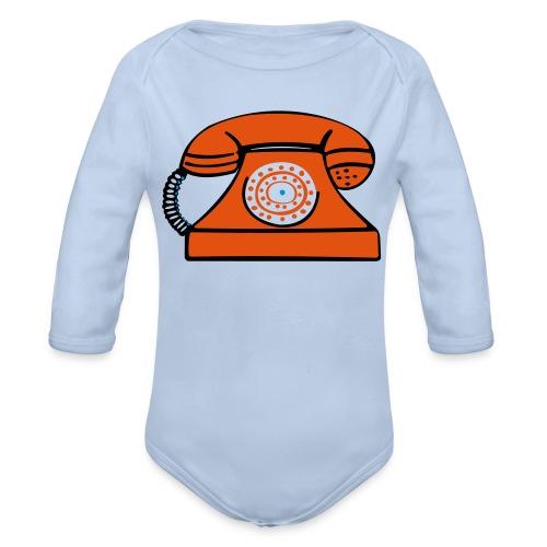 PHONERED - Organic Longsleeve Baby Bodysuit