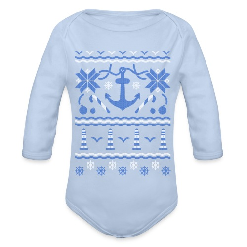 Baltic Christmas - Baby Bio-Langarm-Body