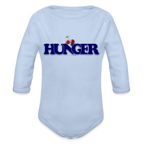 TShirt Hunger cerise - Body Bébé bio manches longues