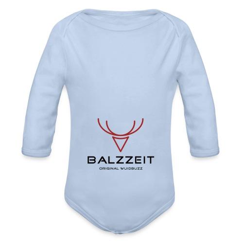 WUIDBUZZ | Balzzeit | Männersache - Baby Bio-Langarm-Body