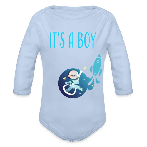 It's a Boy! Witzige süße Umstandsmode T-Shirt - Baby Bio-Langarm-Body