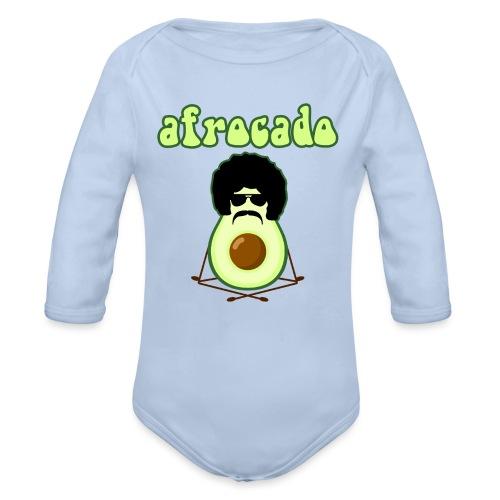 afrocado avocado yoga namaste hippie pace amore - Body ecologico per neonato a manica lunga