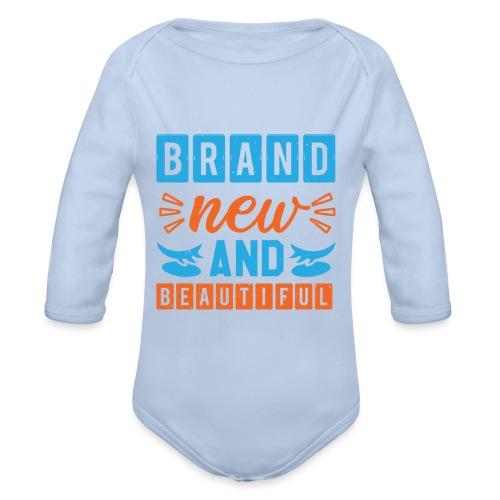 Brand new and Beautiful - Baby Bio-Langarm-Body
