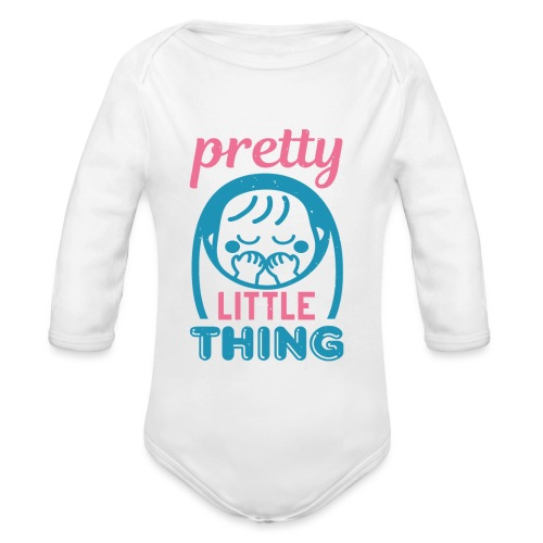 Pretty little thing - Baby Bio-Langarm-Body