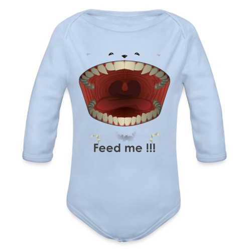 Feed me - Body Bébé bio manches longues