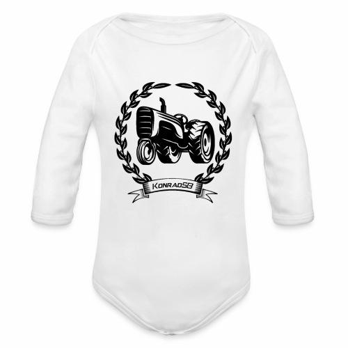 KonradSB - Ekologiczne body niemowlęce z długim rękawem