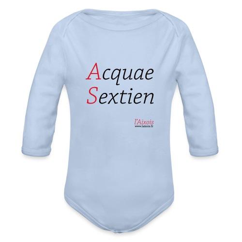 ACQUA SEXTIEN - Body Bébé bio manches longues