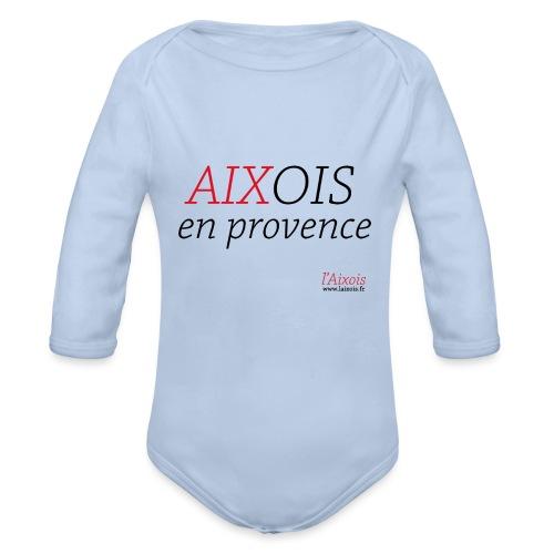 AIXOIS EN PROVENCE - Body Bébé bio manches longues