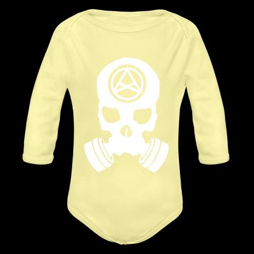 Nether Skull - Body ecologico per neonato a manica lunga