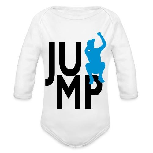 JUMP - Baby Bio-Langarm-Body