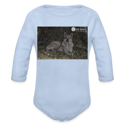 La Tanière des Chiens-Loups - Body bébé bio manches longues