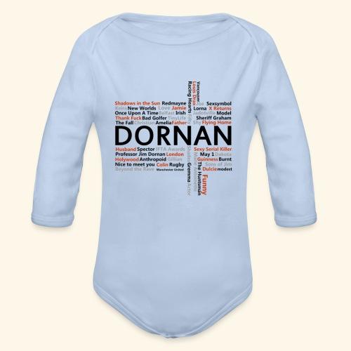 JD Facts - Organic Longsleeve Baby Bodysuit