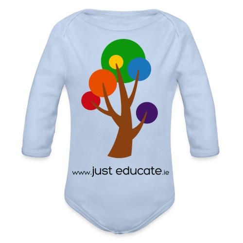 Just Educate.ie - Organic Longsleeve Baby Bodysuit