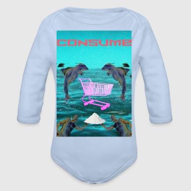 consume - Organic Longsleeve Baby Bodysuit