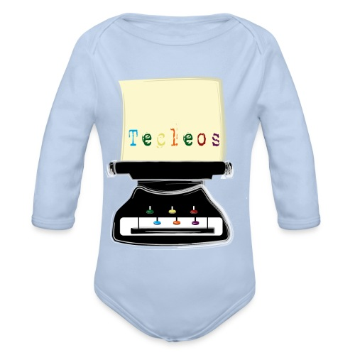 tecleos - Body orgánico de manga larga para bebé