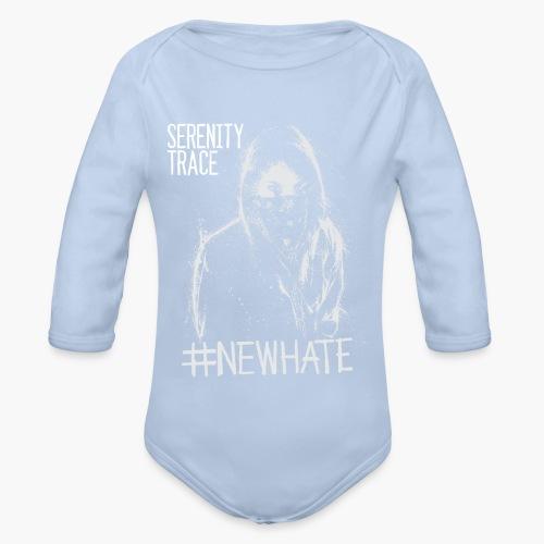 #NewHate Female - Økologisk langermet baby-body