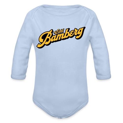 Echt Bamberg - Baby Bio-Langarm-Body