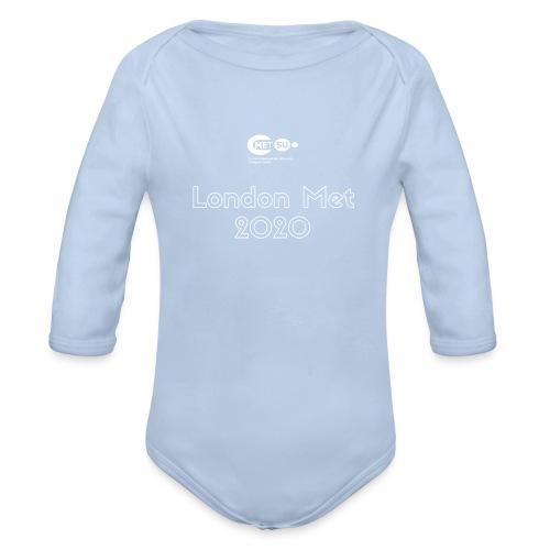 London Met 2020 - Organic Longsleeve Baby Bodysuit