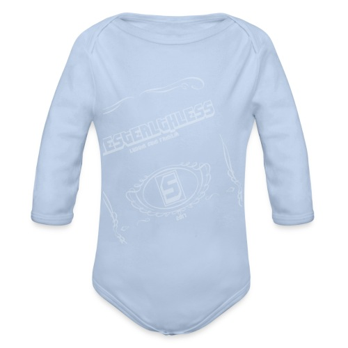 The Stealthless Game with Family Light - Organic Longsleeve Baby Bodysuit