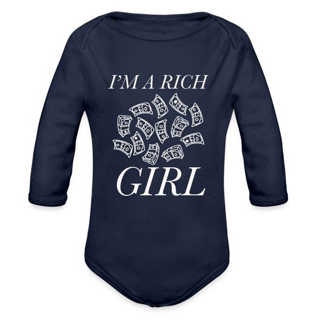 powerful I'm a rich girl T-shirt