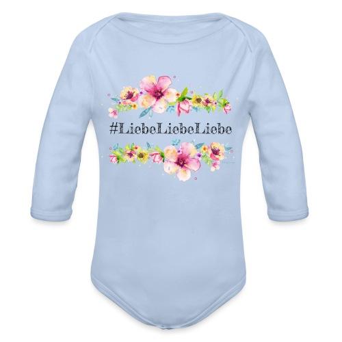 liebeliebeliebe - Baby Bio-Langarm-Body