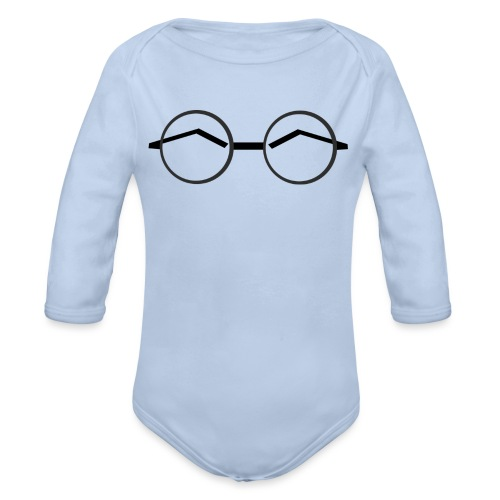 Glasses - Ekologisk långärmad babybody