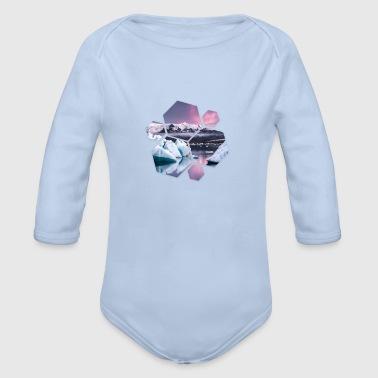logo Inverno - Body ecologico per neonato a manica lunga