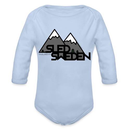 SledSweden Logo - Ekologisk långärmad babybody