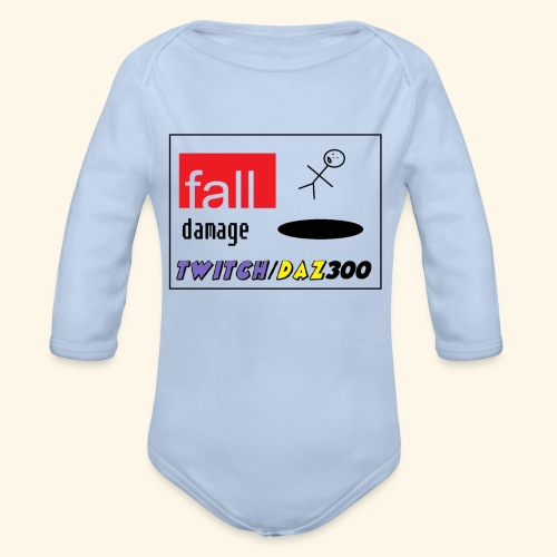 fall2 - Organic Longsleeve Baby Bodysuit