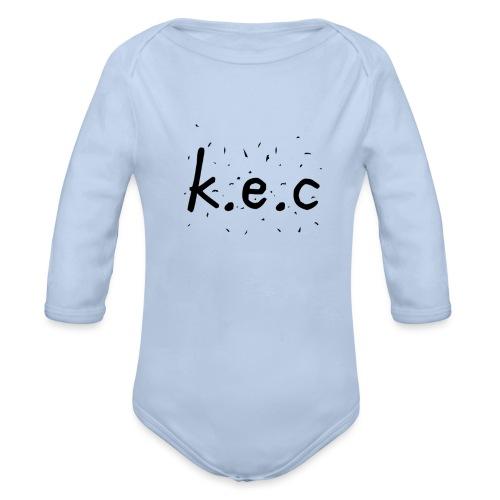 K.E.C basball t-shirt - Langærmet babybody, økologisk bomuld