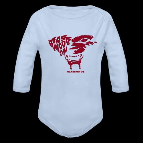 beastmode - Baby Bio-Langarm-Body