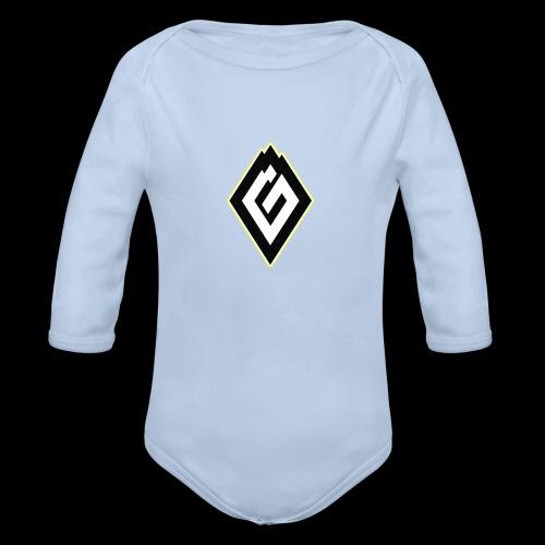 logs2 - Organic Longsleeve Baby Bodysuit