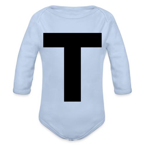 Tblack - Baby Bio-Langarm-Body