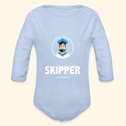 SeaProof Captain - Baby Bio-Langarm-Body