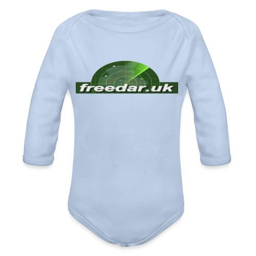 Freedar - Organic Longsleeve Baby Bodysuit