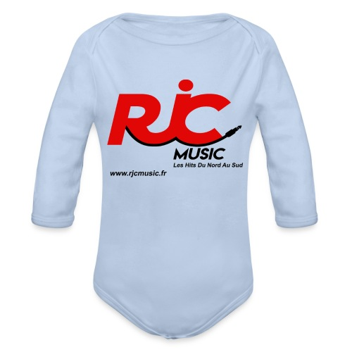 RJC Music avec site - Body Bébé bio manches longues