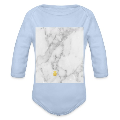 Marble - Organic Longsleeve Baby Bodysuit
