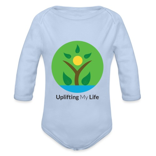Uplifting My Life Official Merchandise - Organic Longsleeve Baby Bodysuit