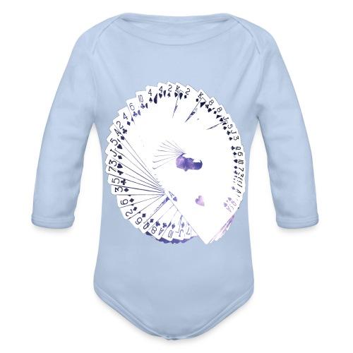 Wearable Cardistry - Universe - Body bébé bio manches longues