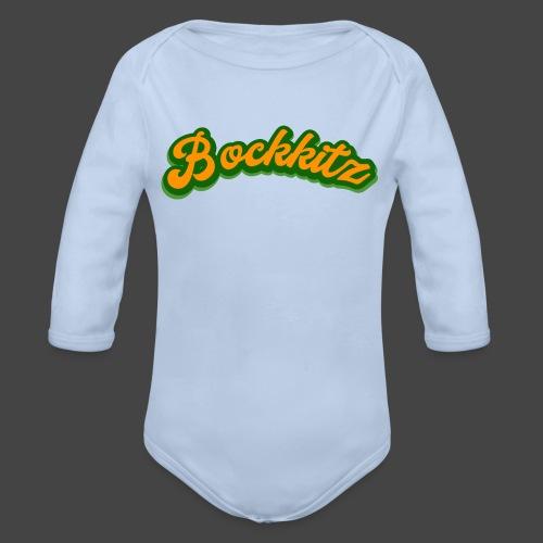 bockkitz - Baby Bio-Langarm-Body
