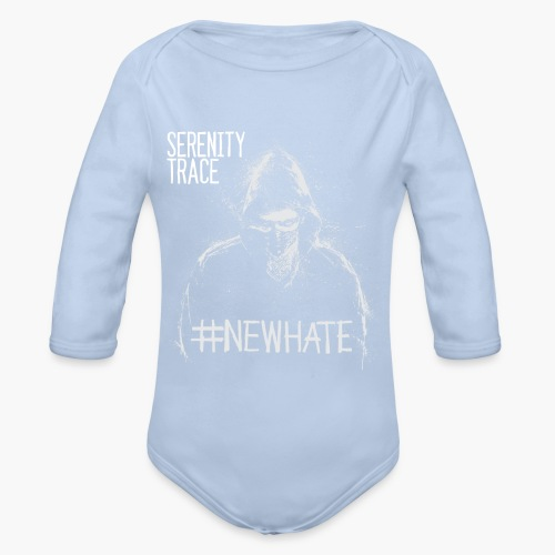 #NewHate Male - Økologisk langermet baby-body