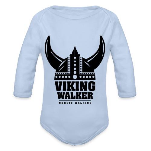 Nordic Walking - Viking Walker - Vauvan pitkähihainen luomu-body
