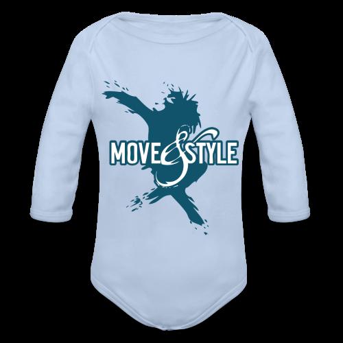 Move and Style Dance Academy - Baby Bio-Langarm-Body